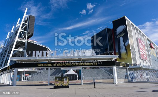 931661614istockphoto Levi's Stadium is the home of the 50th Super Bowl. 506612472