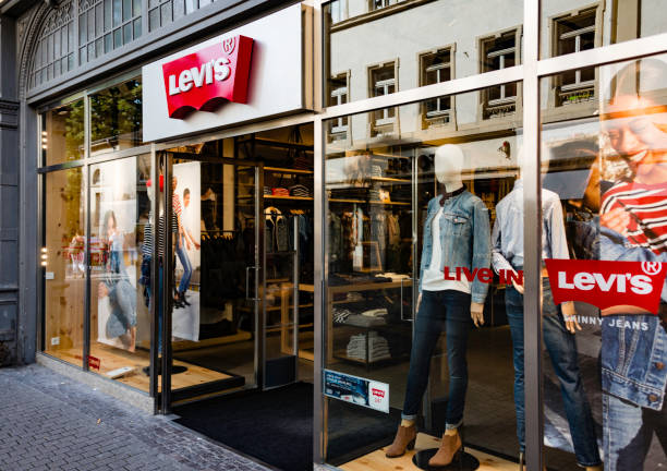 Levi's Store, Heidelberg, Germany stock photo