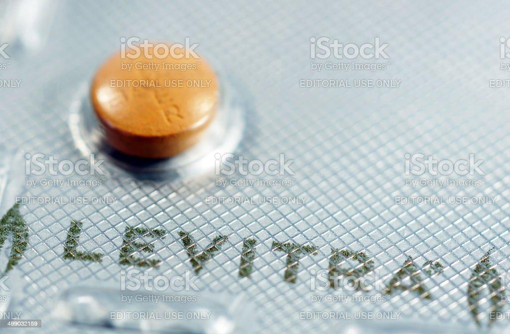 Levitra drug royalty-free stock photo
