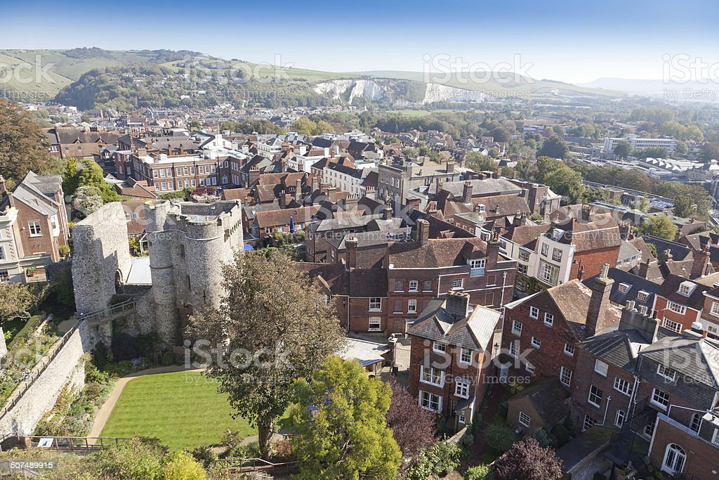 Lewes east sussex england,United Kingdom stock photo