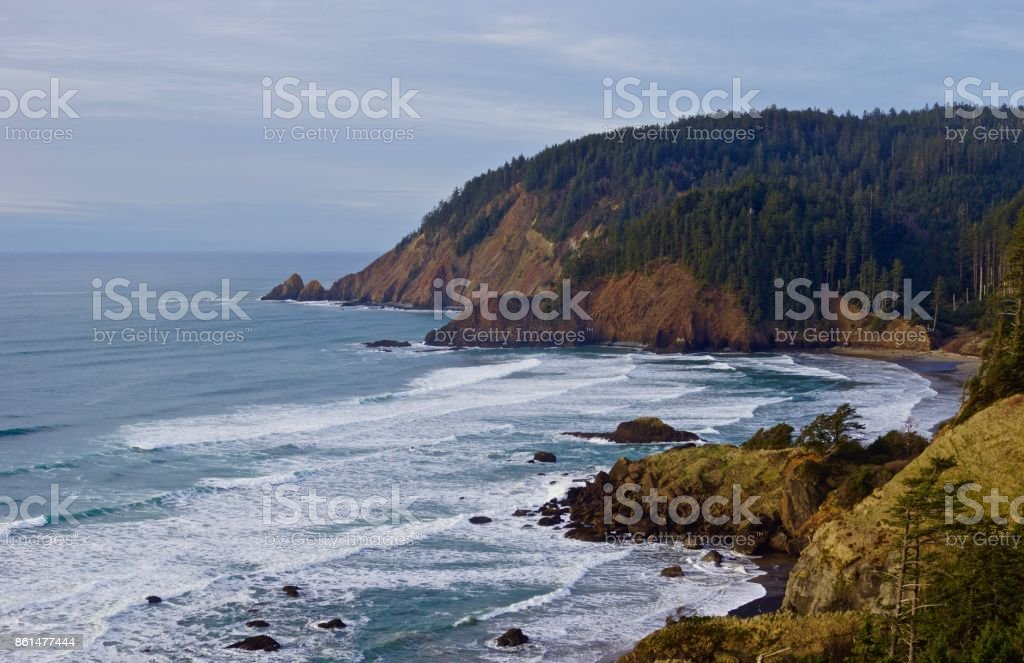 Lewis And Clark National Park stock photo