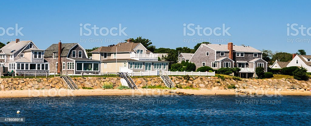 Lewis Bay Homes stock photo