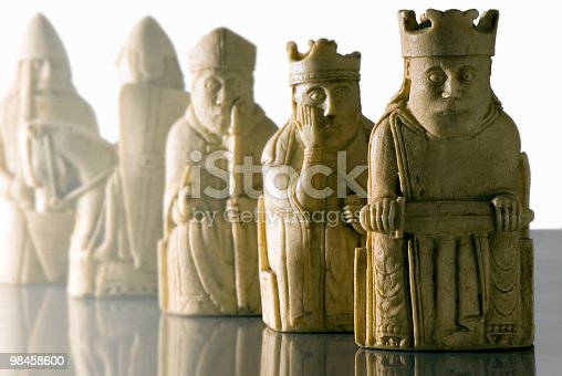 Lewis Chessmen Stock Photo & More Pictures of Bishop - Chess