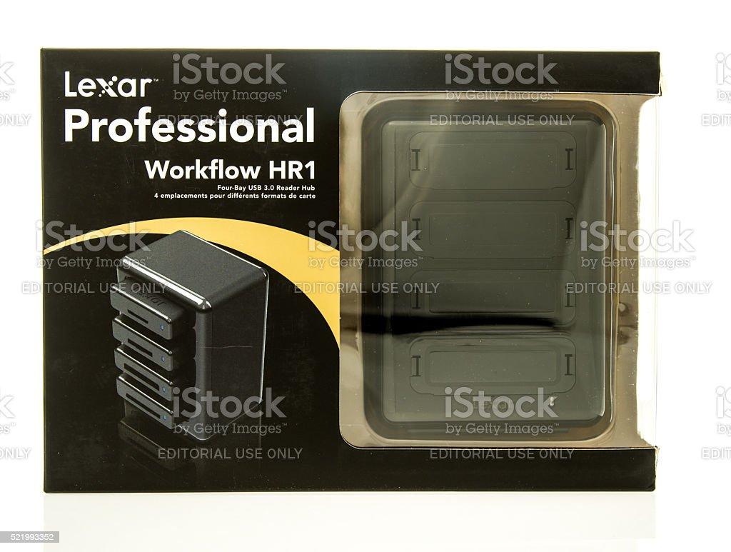 Lexar Work flow HR1 stock photo