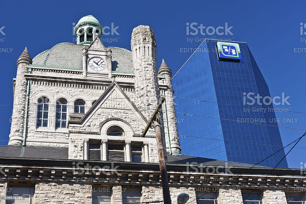 Lexington, Kentucky Buildings royalty-free stock photo