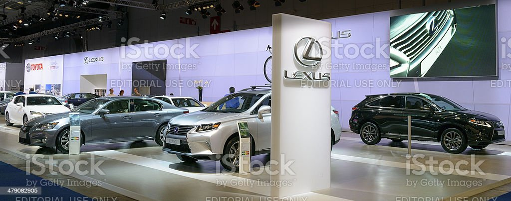 Lexus Stand royalty-free stock photo