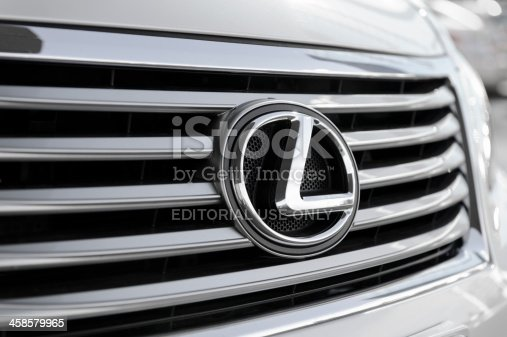 istock Lexus LS Grille 458579965