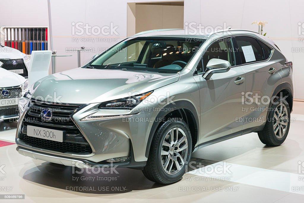 Lexus Nx 300h Luxury Crossover Hybrid Car Stock Photo Download Image Now Istock