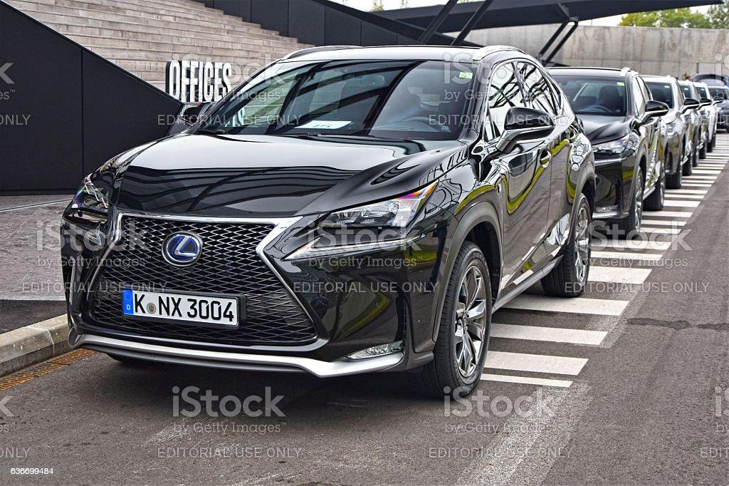 Lexus NX - luxury SUV stock photo