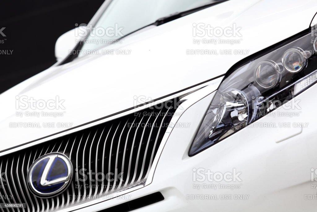 Lexus RX 450h hybrid royalty-free stock photo