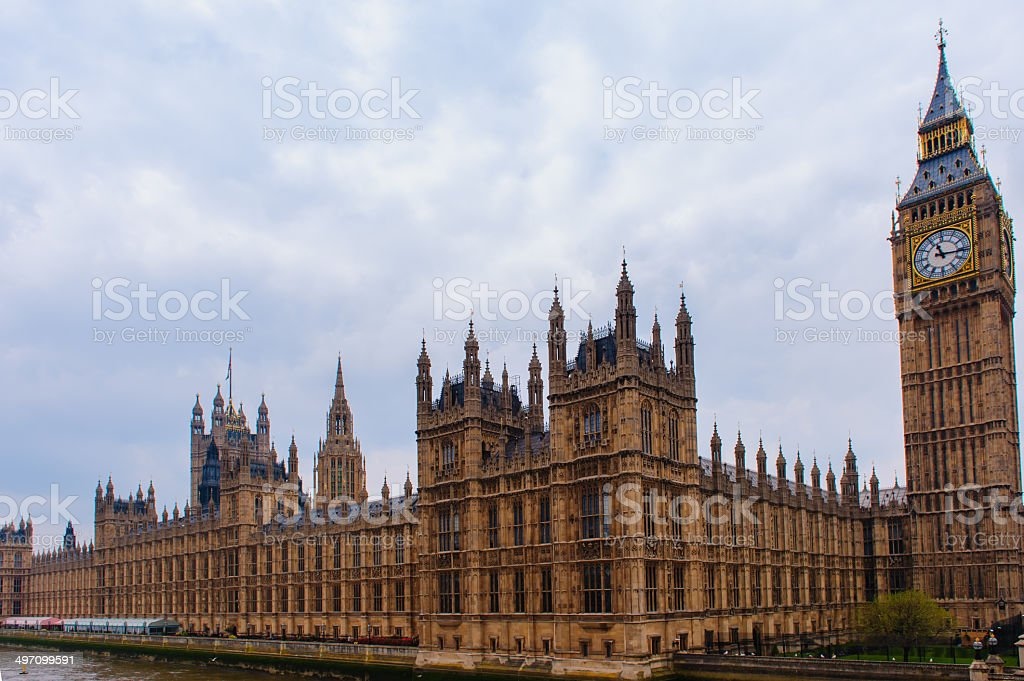 lHouses of Parliament stock photo