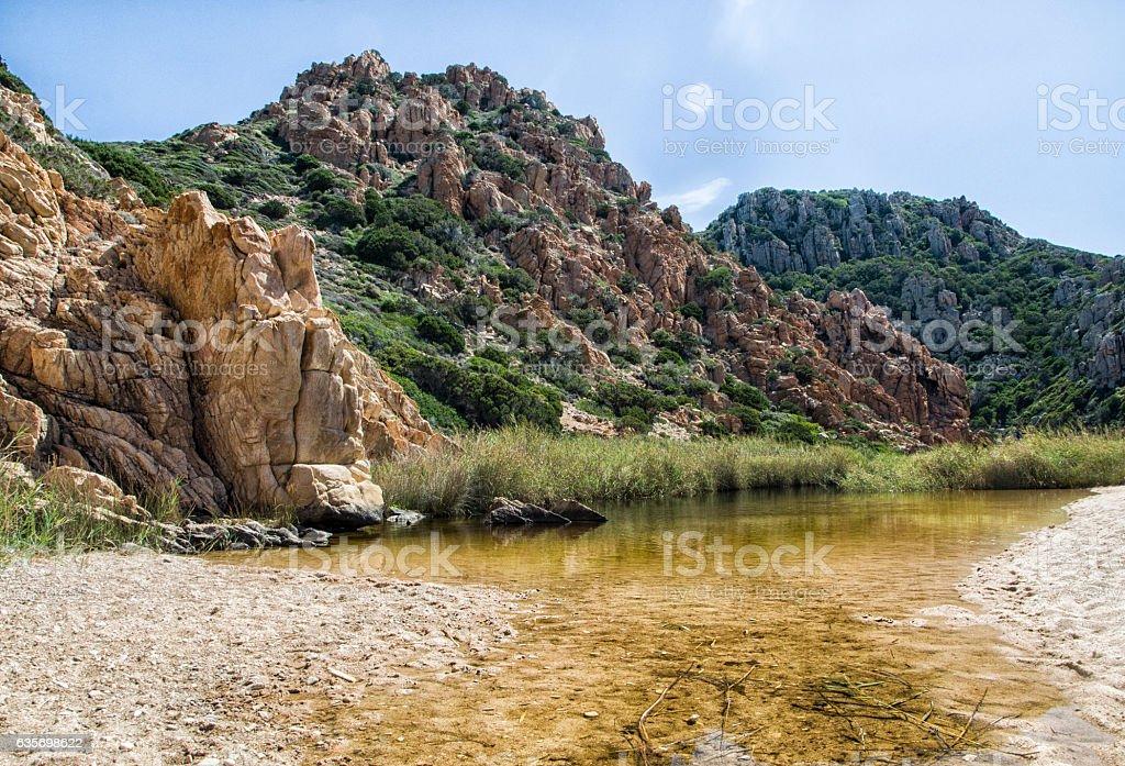 Li Cossi  - Costa Paradiso - Sardinia island Italy royalty-free stock photo