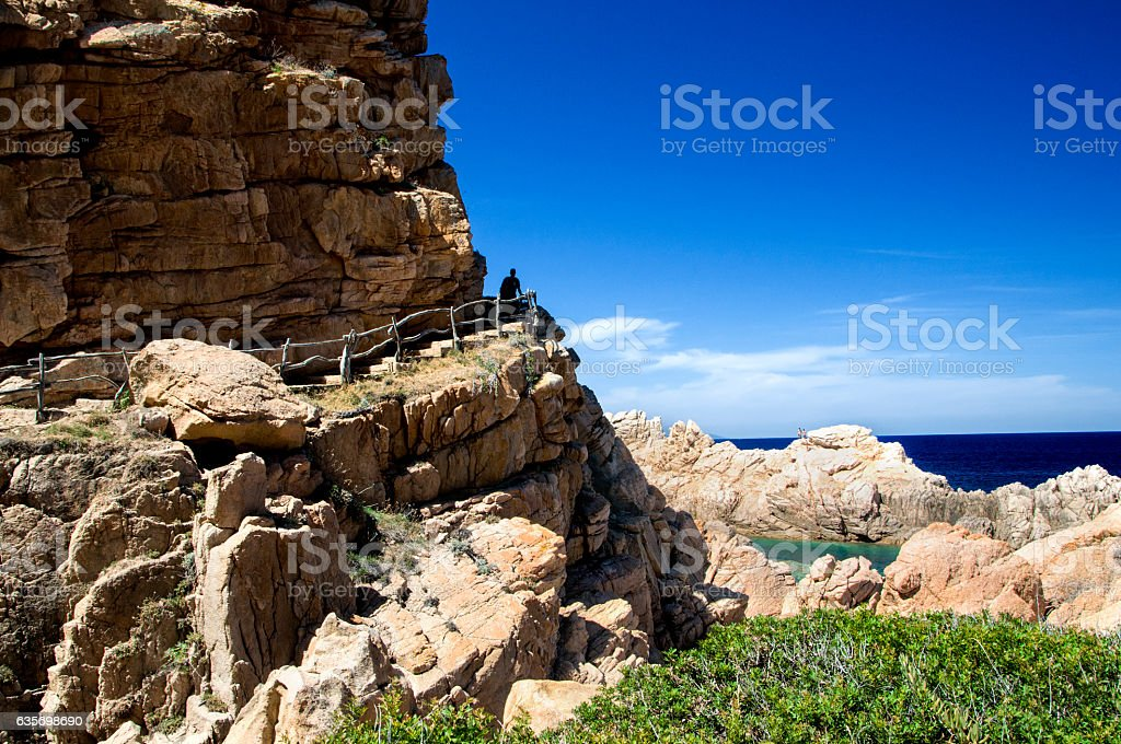 Li Cossi  - Costa Paradiso - Sardinia island Italy royalty-free stock photo