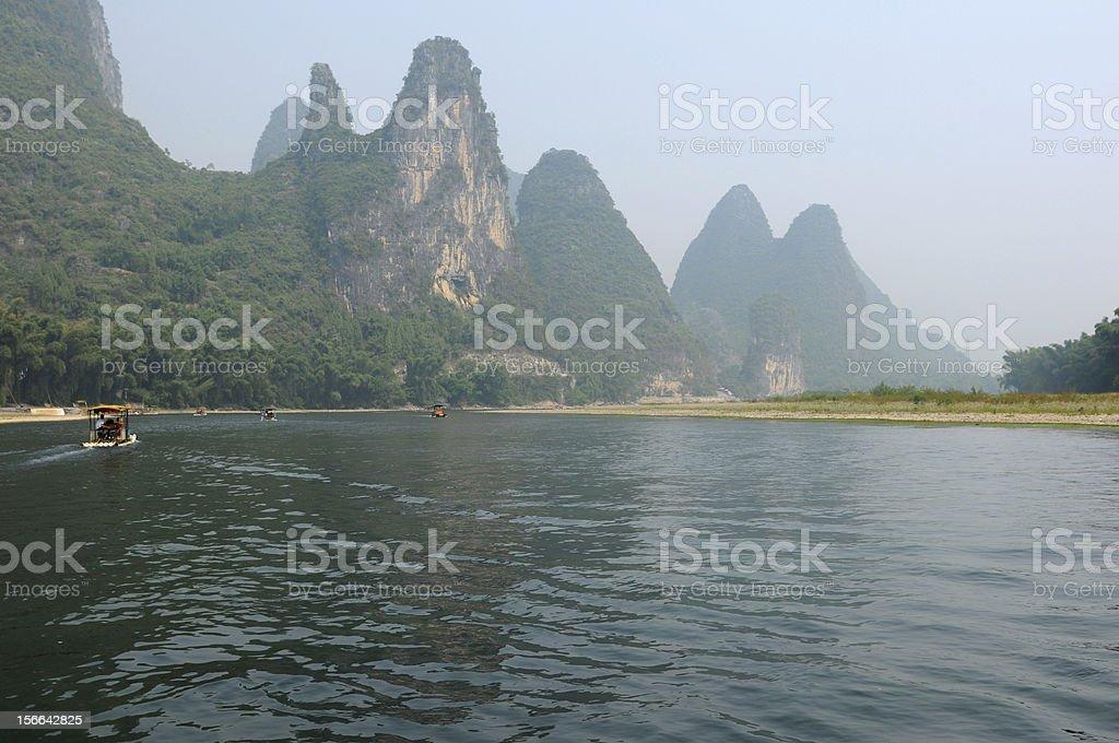 Li River at XingPing royalty-free stock photo