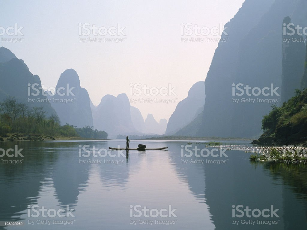Li River, China royalty-free stock photo