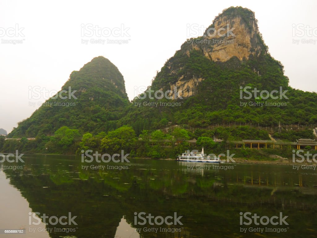 Li River, Yangshuo, China, Asia royalty-free stock photo