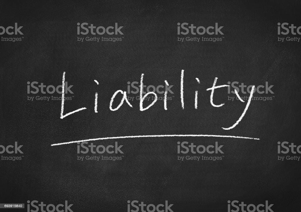liability stock photo