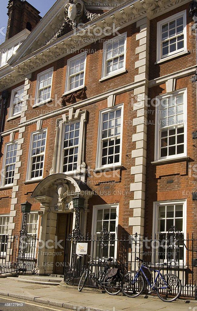 Liberal Democrat Party Headquarters, London stock photo