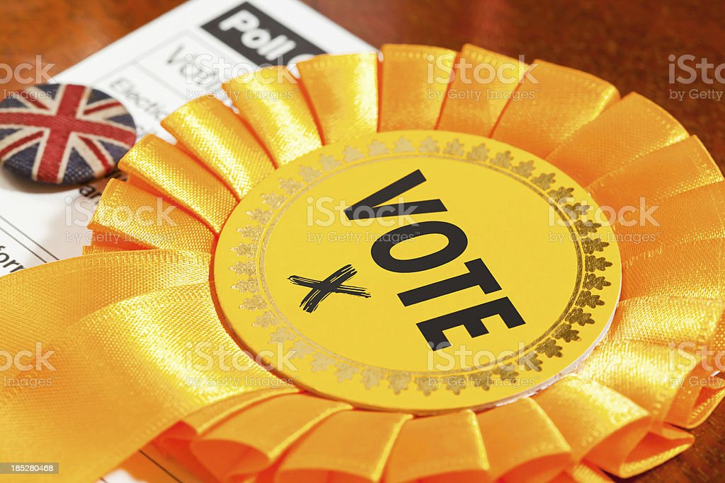 Liberal Party Vote royalty-free stock photo