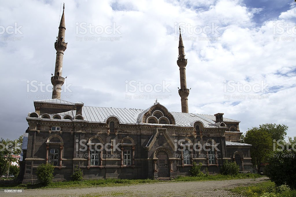 Liberation Mosque Kars stock photo