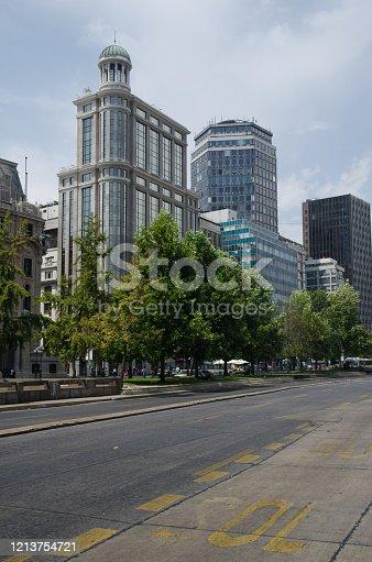 Libertador Bernardo O'Higgins Avenue. Santiago de Chile. Chile.