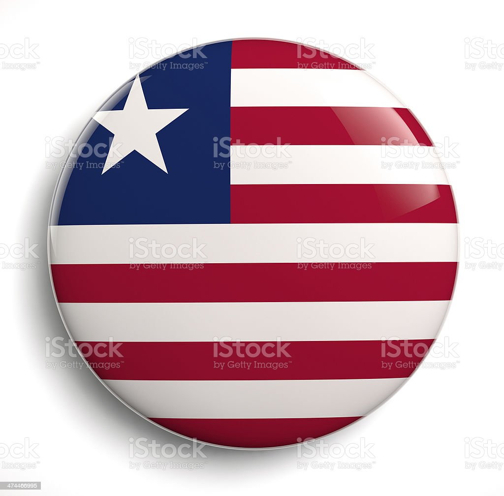Liberia flag royalty-free stock photo