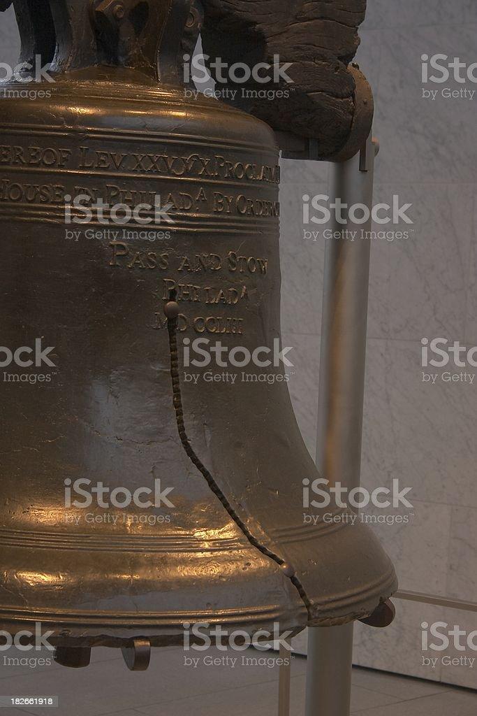 Liberty Bell Aside stock photo