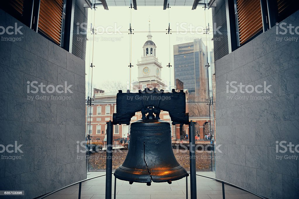 Liberty Bell royalty-free stock photo