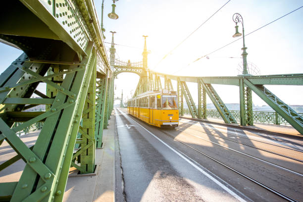 Freiheitsbrücke in Budapest Stadt – Foto