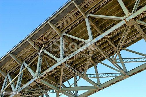 Underside of Liberty Bridge