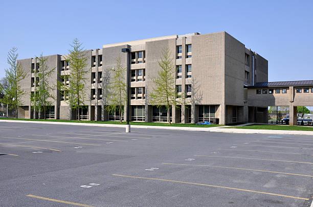 Liberty High School in Bethlehem stock photo