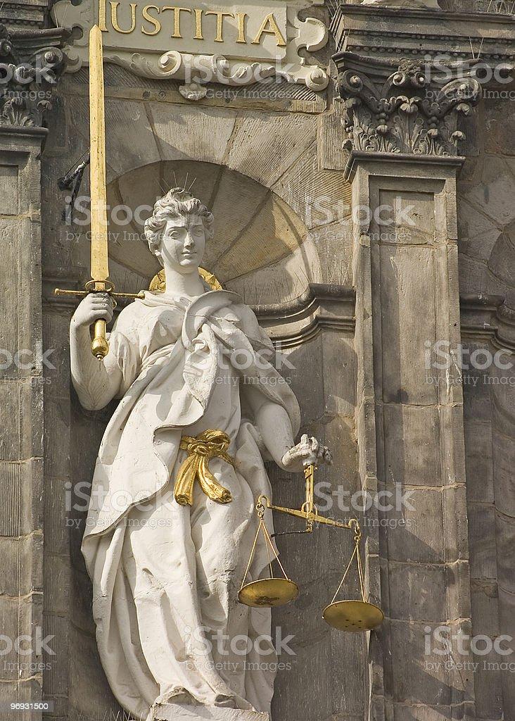 Liberty lady royalty-free stock photo