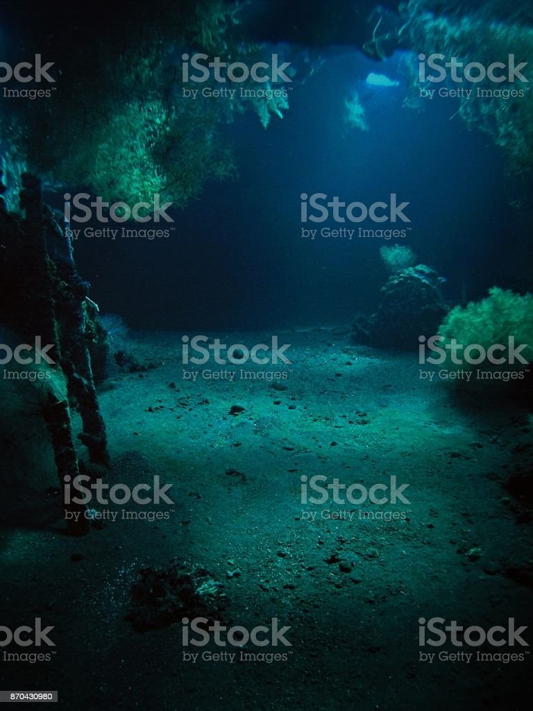 USS Liberty shipwreck stock photo