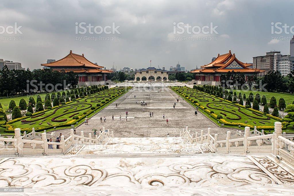 Liberty Square Taipei, Taiwan stock photo