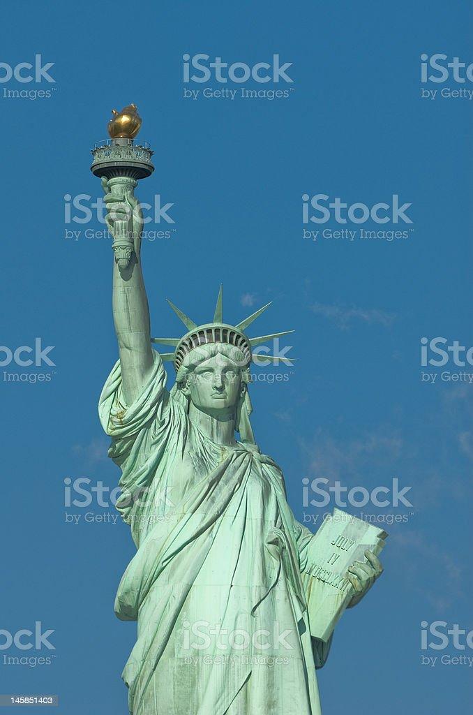liberty statue new york usa royalty-free stock photo