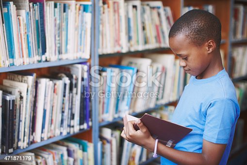 istock Libraries are a great place for creative minds 471871179