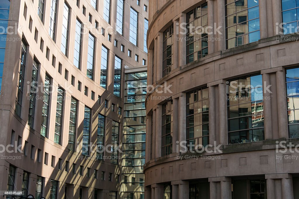 library building in Vancouver, Canada stock photo