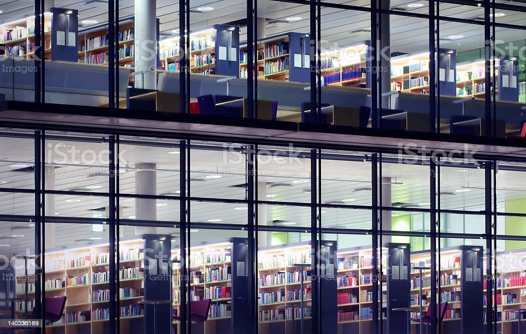 library building royalty-free stock photo