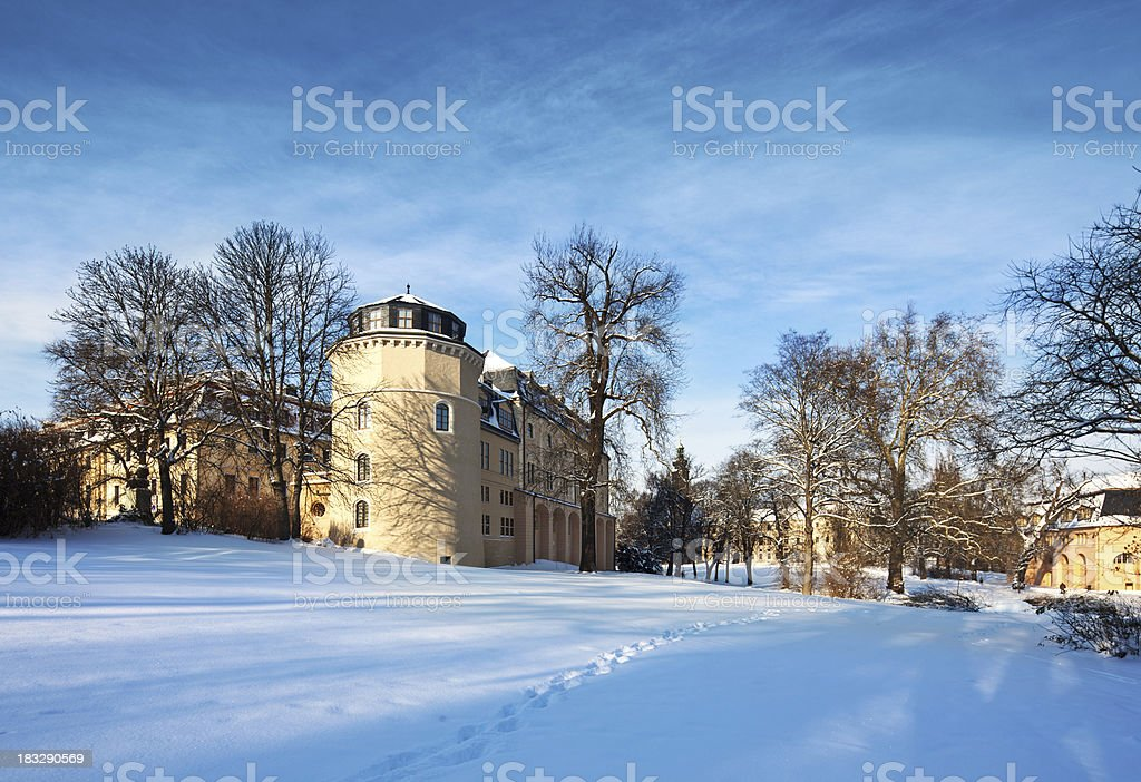 Library in Weimar, Germany royalty-free stock photo