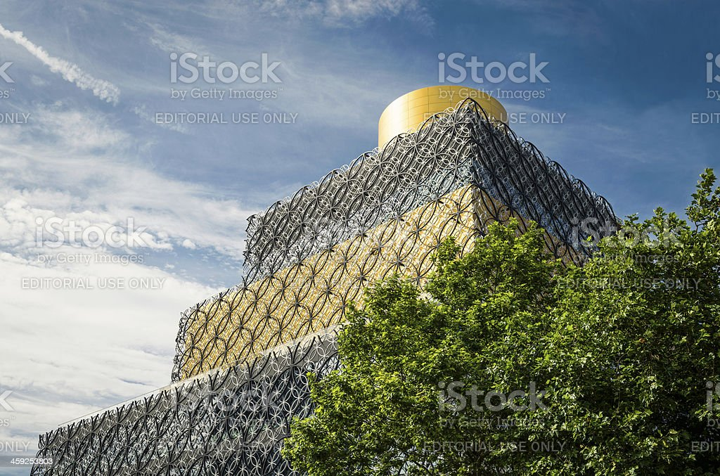 Library of Birmingham royalty-free stock photo