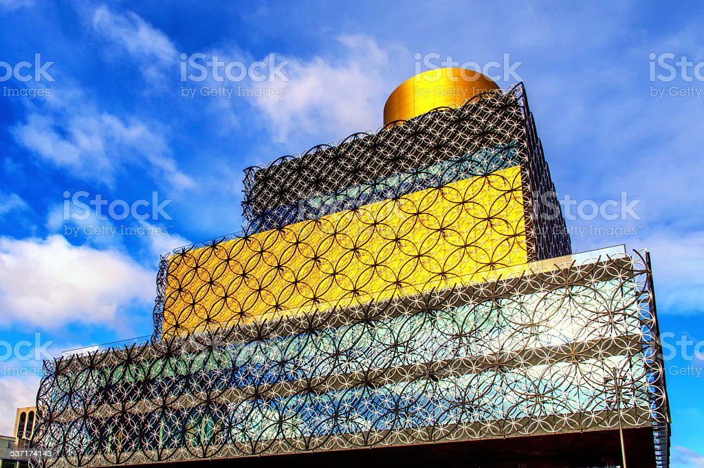 Library of Birmingham stock photo