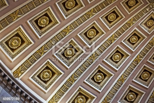 Library of Congress Ceiling in Washington DC
