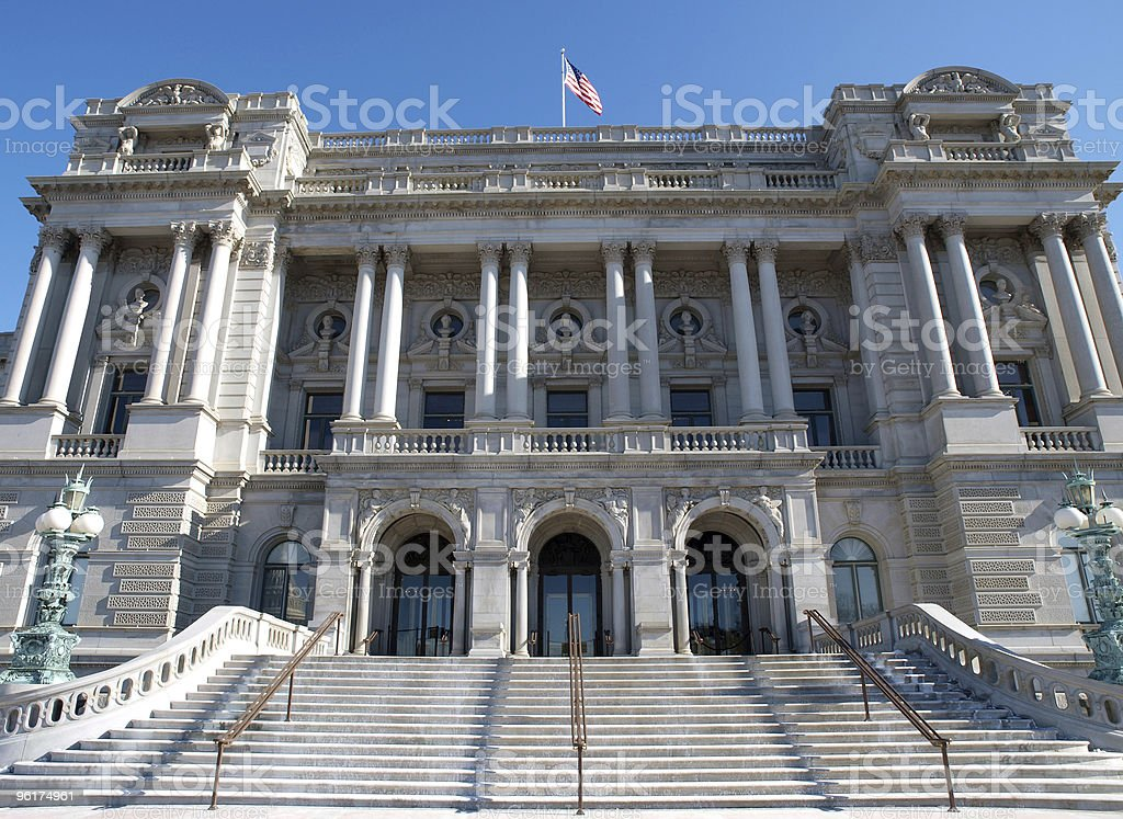 Library of Congress Day stock photo
