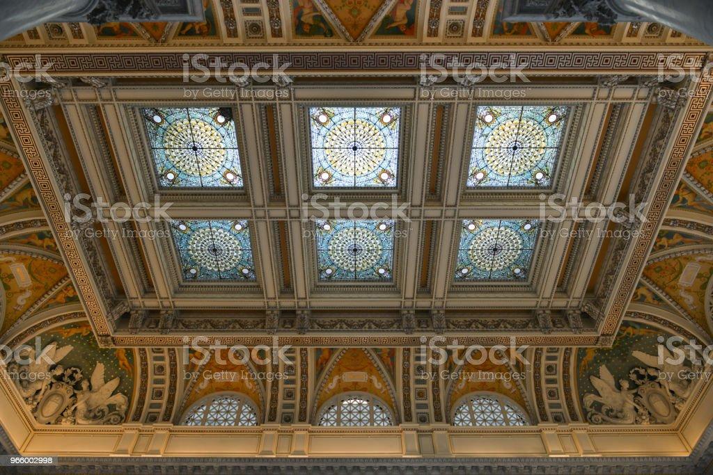 Library of Congress in Washington DC - Royalty-free Architectuur Stockfoto