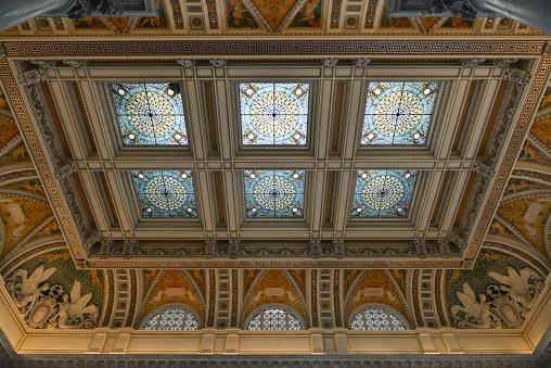 Library Of Congress In Washington Dc Stockfoto en meer beelden van Architectuur