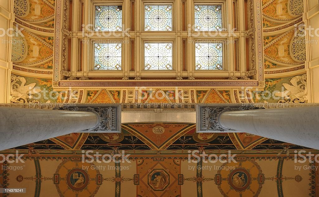 Library of Congress royalty-free stock photo