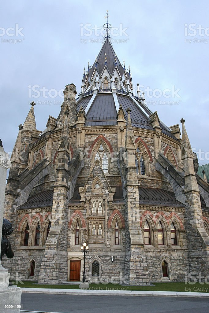 Library of Parliament royalty-free stock photo