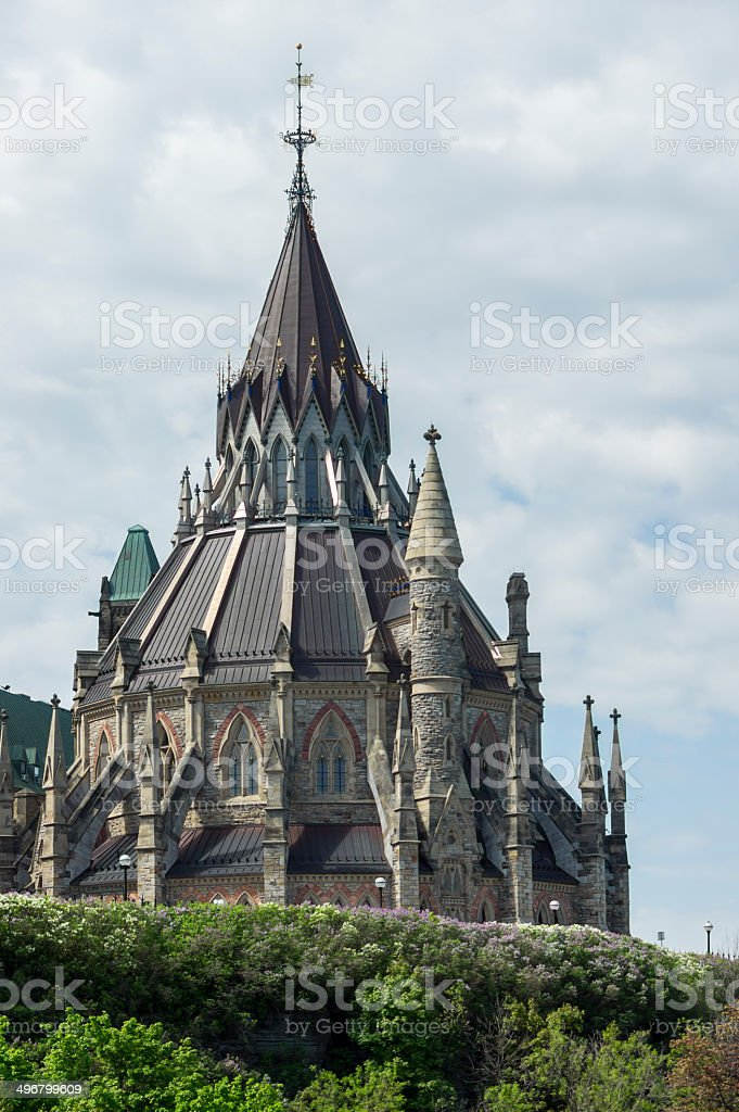 library of parliament - portrait royalty-free stock photo