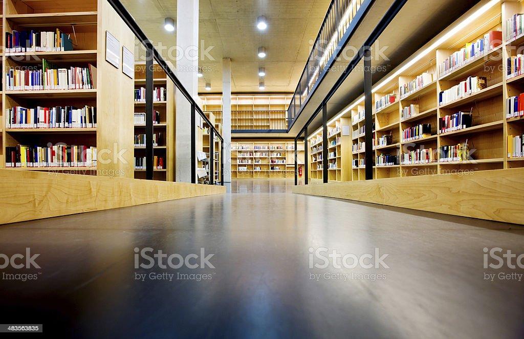La biblioteca - foto de stock