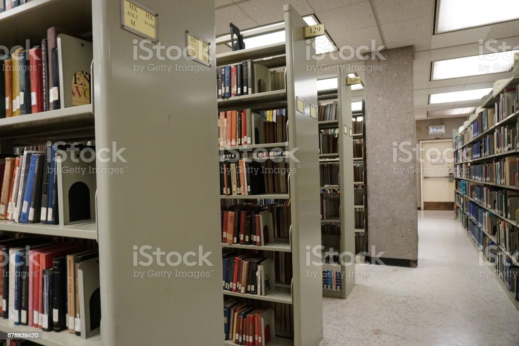 Kütüphane royalty-free stock photo